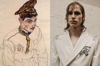 LCM London menswear art collages ALEXANDER MCQUEEN 7