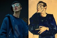 Milan menswear art collages Emporio Armani 21