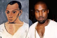 Everyone Kanye West has compared himself to mash up collages 0