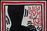 """Keith Haring. """"Untitled (Free South Africa)"""" (1985) 2"""