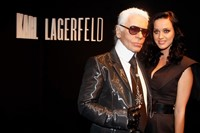 Katy Perry Karl Lagerfeld 1