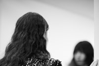 Christopher Kane AW18 lfw fashion week backstage London 17