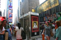 Public Art in Times Square, New York City, 2013
