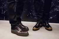Prada AW15 brogues, Dazed backstage 27
