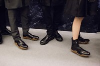 Prada AW15 brogues, Dazed backstage 29