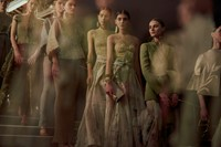 Armani Privé Haute Couture SS15 Line Up Flowing Skirts 2