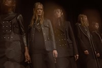 ALEXANDER WANG AW15 Gothic Japanese Lolita Victorian Leather 2