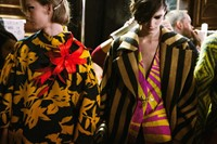backstage photographer dries van noten fashion paris 2