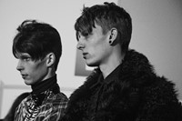 Topman Design AW15 LCM London menswear backstage 5