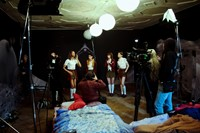Behind the scenes on The Misandrists. 12