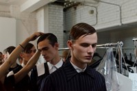 Matthew Miller SS15 Mens collections, Dazed backstage 12