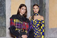 versace aw18 donatella milan mfw fashion week 4