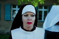 Behind the scenes on The Misandrists. 5
