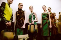 Prada SS15, womenswear, Dazed backstage 5