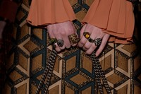 Gucci AW15 Dazed backstage Womenswear focus rings accessory 11