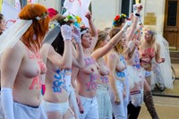 Femen gay marriage protest 0