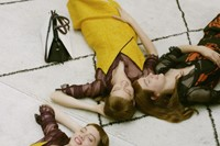 Behind the scenes on Mulberry's Winter campaign 1