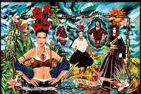 25 Ad campaign for the Tribute to Frida Kahlo coll
