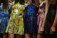Backstage at Peter Pilotto SS15 1
