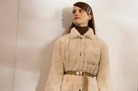 Opening Ceremony AW15, Dazed, womenswear sheepskin coat 1
