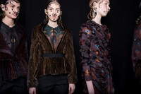 Givenchy AW15, Dazed, Womenswear, Gelled Hair, Nose Rings 7