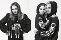 chanel campaign lagerfeld lilyrose depp cara delevingne aw17 0