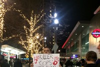 #ICantBreathe Eric Garner protests Westfield London 5