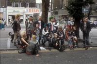 #4 Punks hanging out on the Kings Road, London, 19 5