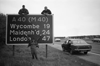 Gavin Watson, 40 Sign, Nr High Wycombe, 1980s 2