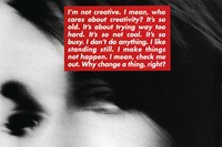 Barbara Kruger Dazed interview feature 4