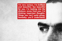 Barbara Kruger Dazed interview feature