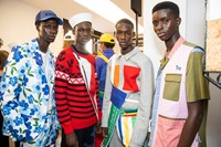 Backstage at Benetton SS20 12 11