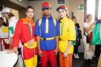 Backstage at Benetton SS20 11 10