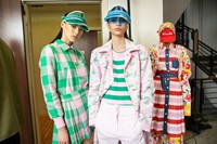 Backstage at Benetton SS20 21 20