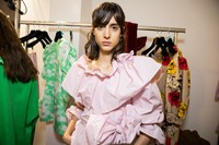 Backstage at MSGM SS20 2 1