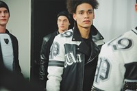 Philipp Plein AW15 Leather Sportswear Black & White Biker 0