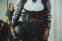 Philipp Plein AW15 Black White Helmet Sportswear Football 24