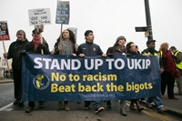 Anti-Nigel Farage UKIP Margate Spring Conference protest 4