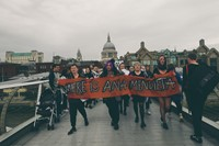 The WHEREISANAMENDIETA protest at Tate Modern
