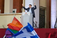 Greece celebrates after Syriza win elections 7