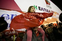 Greece celebrates after Syriza win elections 11