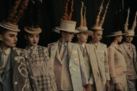 Thom Browne backstage 1