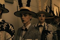 Thom Browne backstage 18