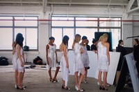 Behind the scenes at Givenchy SS16 campaign 0