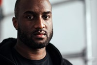 Virgil Abloh backstage at Off-White AW16 0