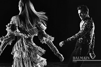 Balmain AW16 campaign Kim Kanye Wolves video 5