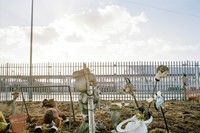 Allotment Decoration, Custom House, Newham by Phil 2