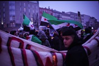 SYRIA PROTEST BERLIN D-1 2