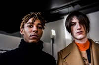 Backstage at Off-White AW16 Menswear Virgil Abloh 6
