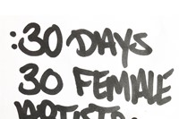30 Days 30 Female Artists 6